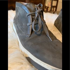 Vince Shoes - Vince Chukka Grey Suede Boot